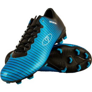 Deportivo Youth & Mens Soccer Boot Blue/Black