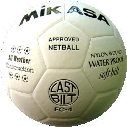 Mikasa FC-4 Netball Ball