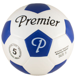 Classic Moulded Soccer Ball (Blue)