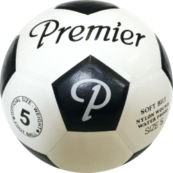 Classic Moulded Soccer Ball (Black)