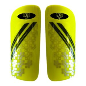 Madrid Slip Shin Guards Yellow