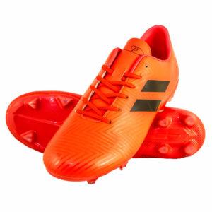 Mens Samba Soccer Boots Neon Orange