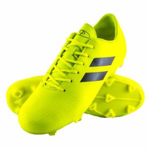 Mens Samba Soccer Boots Neon Yellow
